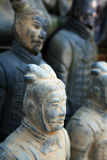 Replica of a terracotta warrior sculpture Stock Photography