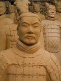 Replica terracotta warriors stock images