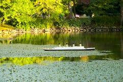 Replica titanica nei giardini pubblici di Halifax - Nova Scotia fotografia stock