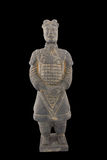 Replica of unearthed terracotta warrior Royalty Free Stock Image