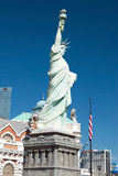 Replica van het Standbeeld van Vrijheid in Nieuw York-Nieuw York op Las Royalty-vrije Stock Afbeelding