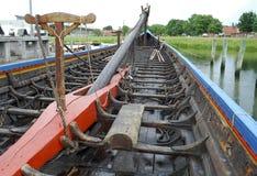 Replica of a viking ship Stock Photos