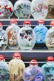 Replicas of snuff bottles on Panjiayuan Market, Beijing, China Stock Photo