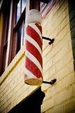 Replik alten Friseur ` s Pole stockbild