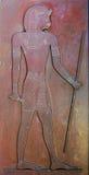 Replik der alten ägyptischen Entlastung lizenzfreie stockbilder