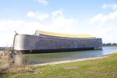 Replik der Arche von Noah stockfoto