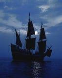 Replik der Lieferung Mayflower II stockbild