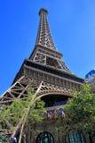 Replik des Eiffelturm-, Paris-Hotels und des Kasinos, Las Vegas, stockfotografie