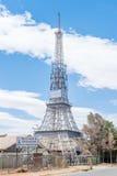 Replik des Eiffelturms in Bloemfontein Stockbild