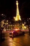 Replik des Eiffelturms im Paris-Hotel stockfoto
