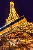 Replik des Eiffelturms in Las Vegas Lizenzfreies Stockfoto