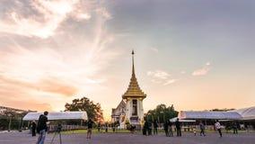 Replik des königlichen Krematoriums für Seine Majestäts-König Bhumibol Aduly lizenzfreies stockfoto