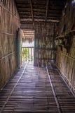 Replik einer Eingangsweise eines alten Küstenhauses stockfotografie