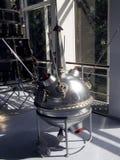 Replik einer Raumsonde Luna 2 stockfotos