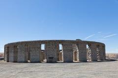 Replik Stonehenge stockbild