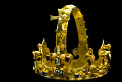 Replik von Charles die große Krone Stockfoto