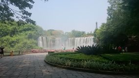 Replik von Niagara Falls stockfotos