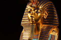 Replik von tutankhamun ` s Maske Lizenzfreies Stockfoto