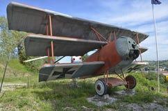 Replika Fokker Dr Ja trójpłat Zdjęcie Stock