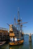Replika Mayflower zdjęcia royalty free