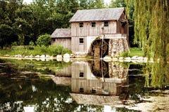 Replika wody Zasilana maszyna obrazy royalty free