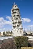 repliki ' krzywą wieżę Zdjęcie Royalty Free