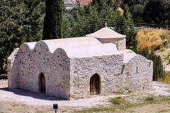 Repliki oryginalni budynki, choirokitia, Cypr zdjęcie royalty free