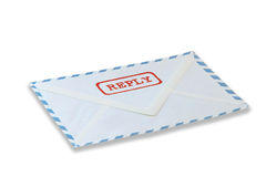 Reply mail Royalty Free Stock Photo