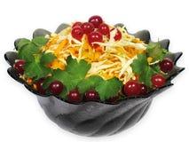 Repolho, airela, cenoura, salsa Foto de Stock