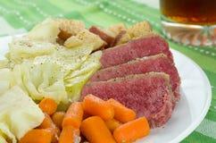 Repolho da carne em lata Imagem de Stock