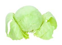 Repolho verde Imagem de Stock Royalty Free