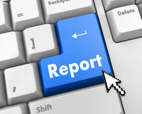 report Lizenzfreies Stockfoto