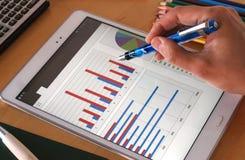 Report analysis Stock Photos