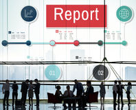 Report Article Research News Presentation Resulting Concept Royalty Free Stock Photos