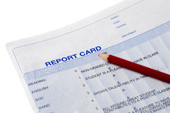 Report Card Royalty Free Stock Photos