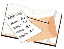Report Card Royalty Free Stock Photography