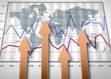 Report charts Stock Photos