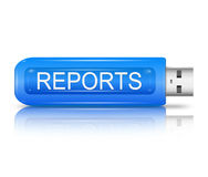 Report concept. Stock Images