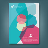 Report and cover book template Royalty Free Stock Photos
