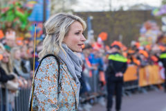 Report Dionne Stax on 2017 King`s Day in Tilburg, Netherlands Stock Photos
