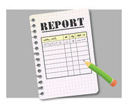 Report form Stock Photos