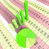 Report Graph Represents Infograph Diagram And Financial Royalty Free Stock Photo