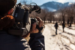 Reportage Arkivfoton