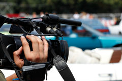 Reportage d'actualités photo stock
