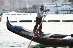 Wassertransport in Venedig stockfotografie