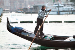Water transport in Venice Stock Photography