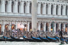 Water transport in Venice Stock Photos