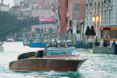 Water transport in Venice Royalty Free Stock Photos