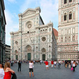 Reportage: TOURISM IN FLORENCE Stock Images