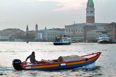 Water transport in Venice Royalty Free Stock Photography
